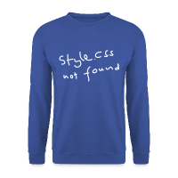 Style CSS Not Found Männer Pullover