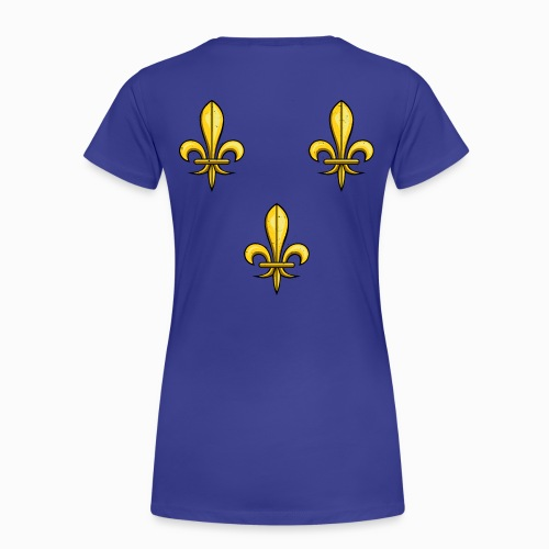 T-shirt Premium Femme 3 Fleurs de Lys - T-shirt Premium Femme
