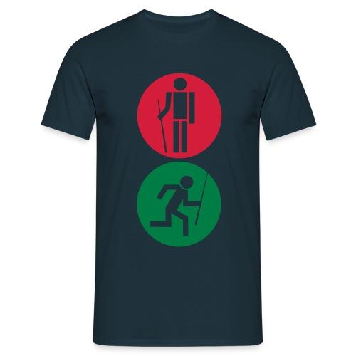 Billard Ampel - Männer T-Shirt