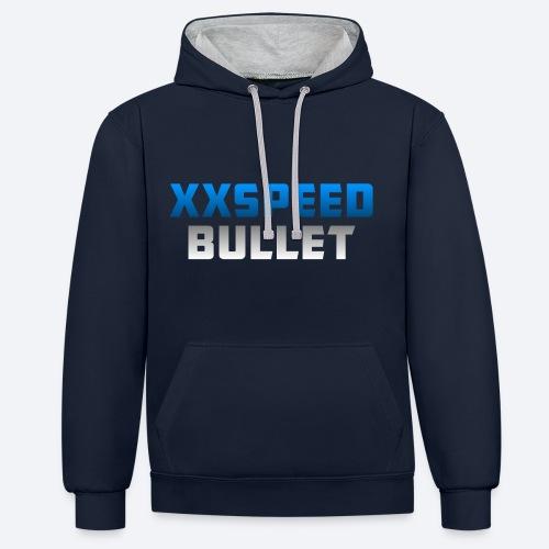 XxSpeedBullet trui  - Contrast hoodie