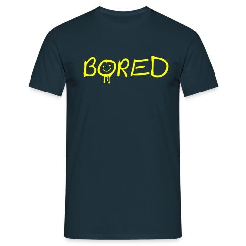 Sherlock: Bored - Männer T-Shirt