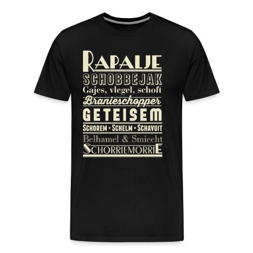 Rapalje mannen premium - Mannen Premium T-shirt