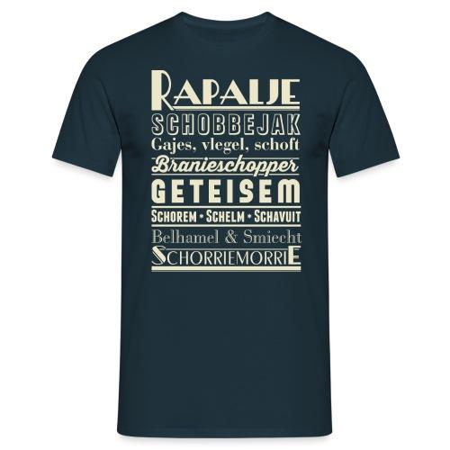 Rapalje mannen t-shirt - Mannen T-shirt