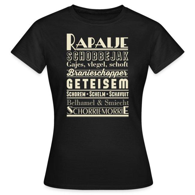 Rapalje vrouwen t-shirt