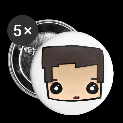Tardo.TV Head Ansteckbutton - Buttons groß 56 mm