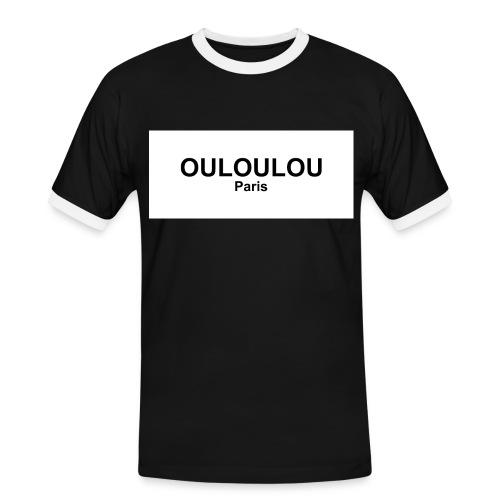 OULOULOU PARIS homme - T-shirt contrasté Homme