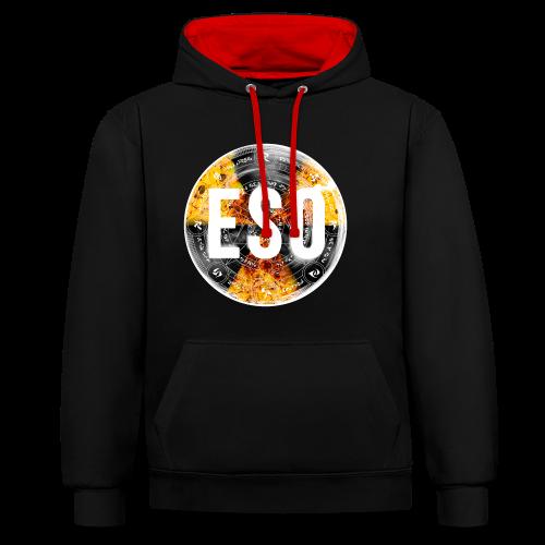 ESO Logo (Classic) - Contrast Colour Hoodie