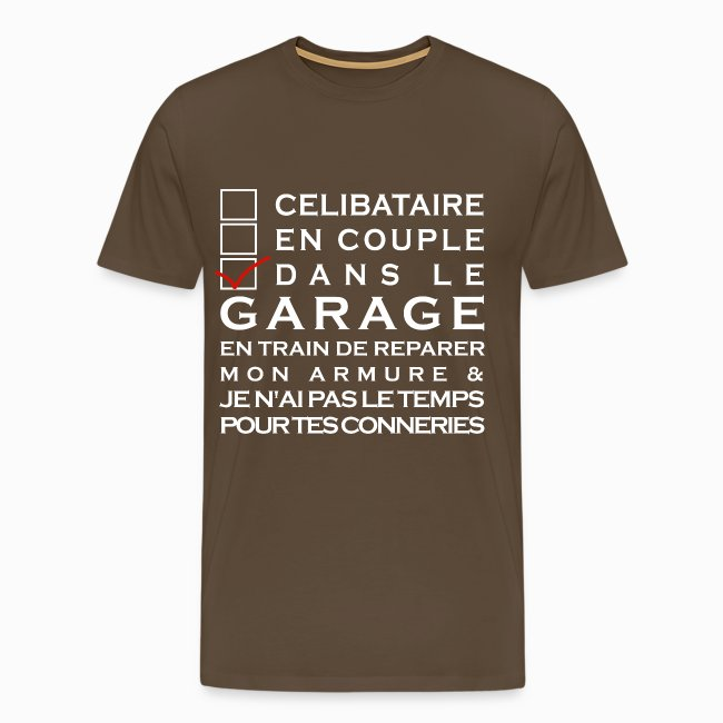 Tshirt Homme Ni celibataire Ni en couple
