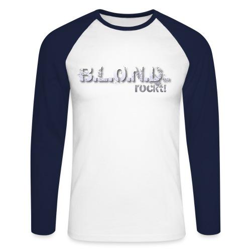 B.L.O.N.D. - Baseballshirt langarm - Männer Baseballshirt langarm