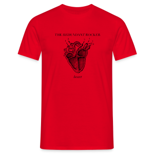 The Redundant Rocker - Heart (Guys) - Men's T-Shirt