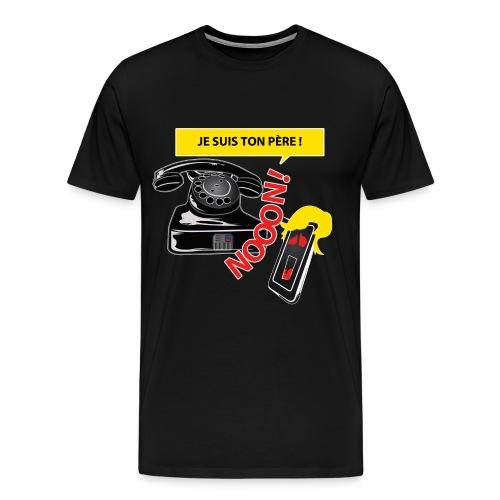 Génération Téléphone - T-shirt Premium Homme