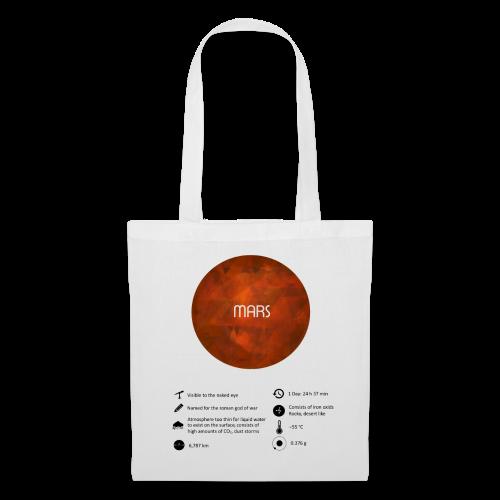 Mars Tasche - Stoffbeutel