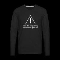Memory Error Nerd Shirt