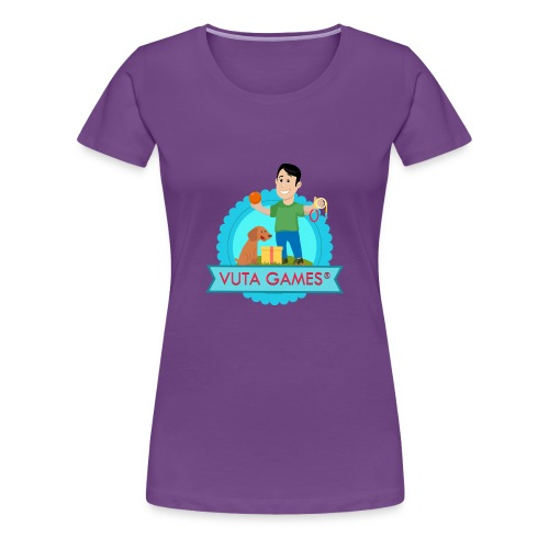T-Shirt VUTA GAMES® - T-shirt Premium Femme