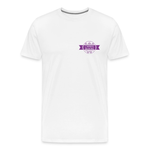 Premium Shirt mit L'arbre4 - Logo - Männer Premium T-Shirt