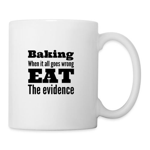 Baking evidence mug  - Mug