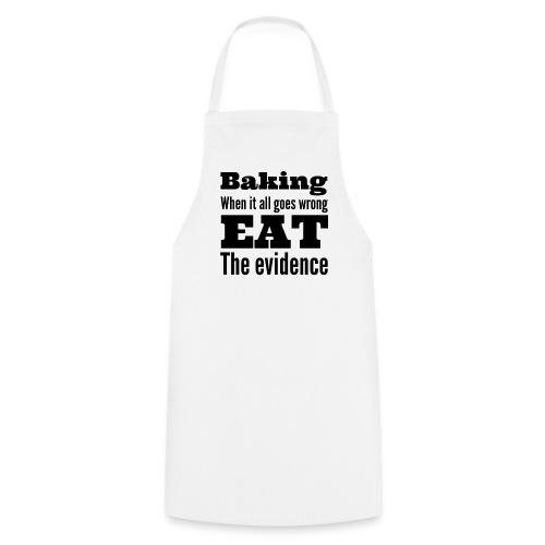 Baking evidence apron  - Cooking Apron