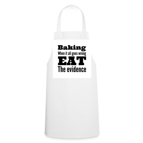 Baking evidence apron  - Cooking Apron