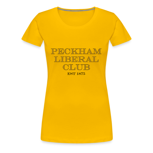 Peckham Liberal Club ladies T Shirt - Women's Premium T-Shirt