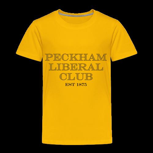 Peckham LIberal Club kids T Shirt - Kids' Premium T-Shirt