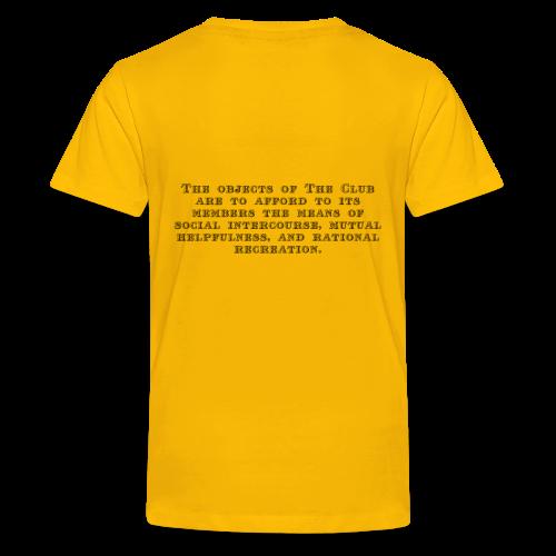 Peckham Liberal Club Teen T Shirt - Teenage Premium T-Shirt