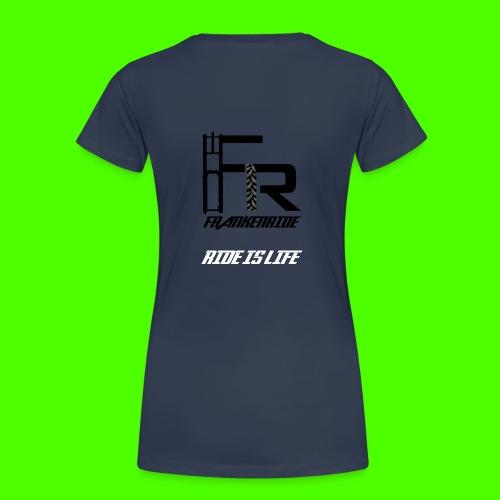 Frankenride T-Shirt für Frauen - Frauen Premium T-Shirt