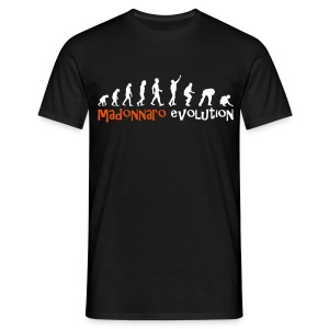 MADONNARO EVOLUTION ORIGINAL - Men White logo - Men's T-Shirt