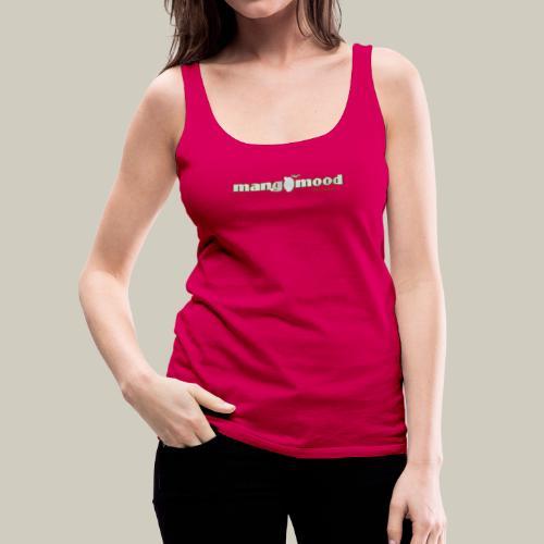 Frauen Premium Tank Top mit Glitzer-Logo - Frauen Premium Tank Top