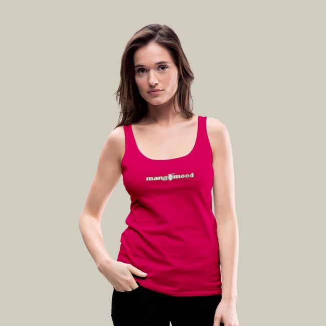 Frauen Premium Tank Top mit Glitzer-Logo
