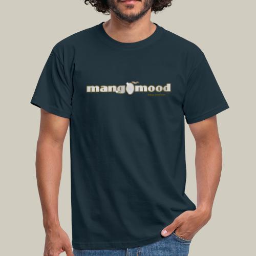 Männer T-Shirt mit Glitzer-Logo - Männer T-Shirt