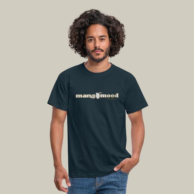 Männer T-Shirt mit Glitzer-Logo