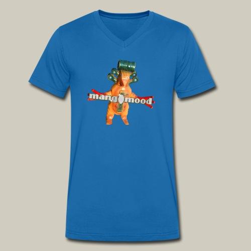 Männer T-Shirt mit V-Ausschnitt und mangomood Monster - Männer Bio-T-Shirt mit V-Ausschnitt von Stanley & Stella