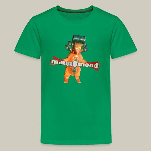 Teenager Premium T-Shirt mit mangomood Monster - Teenager Premium T-Shirt