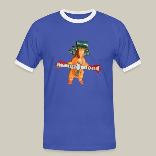 Männer Kontrast-T-Shirt mit mangomood Monster - Männer Kontrast-T-Shirt