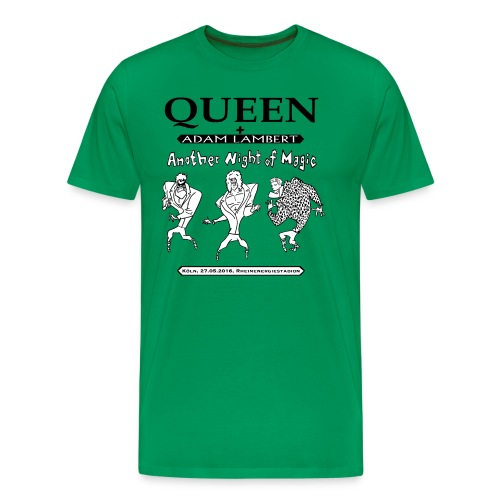 Q+AL Köln 2016 S/W - Männer Premium T-Shirt