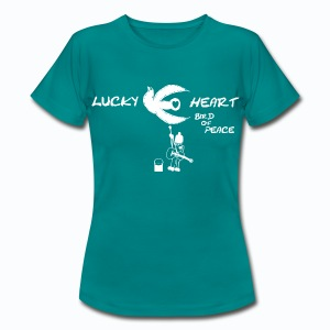 Lucky Heart - Bird of Peace - Frauen T-Shirt