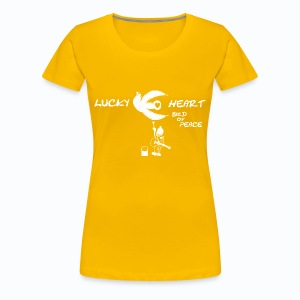 Lucky Heart - Bird of Peace - Frauen Premium T-Shirt