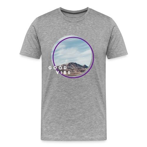 goodvibe summer mountain - Männer Premium T-Shirt