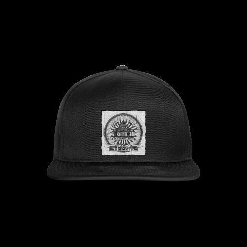 ARS SEGESTRIS Snapback Schwarz - Snapback Cap