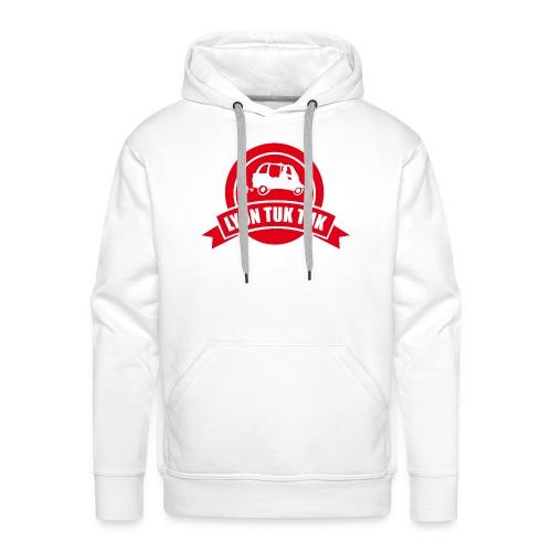 lyon tuk tuk - Sweat-shirt à capuche Premium pour hommes