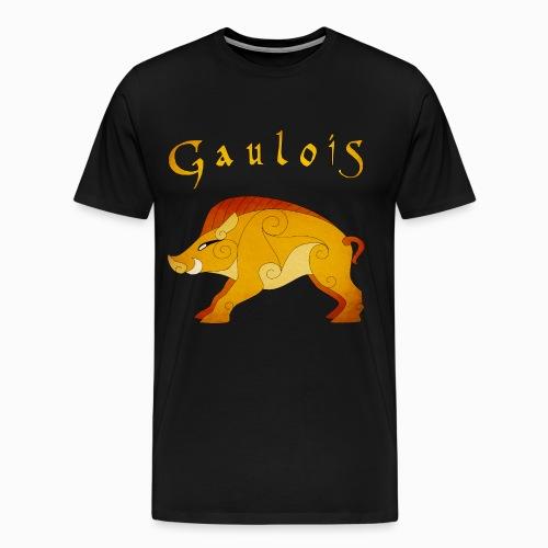 Tshirt Homme Sanglier Gaulois - T-shirt Premium Homme