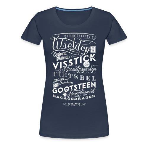 Blokfluitles vrouwen premium - Vrouwen Premium T-shirt