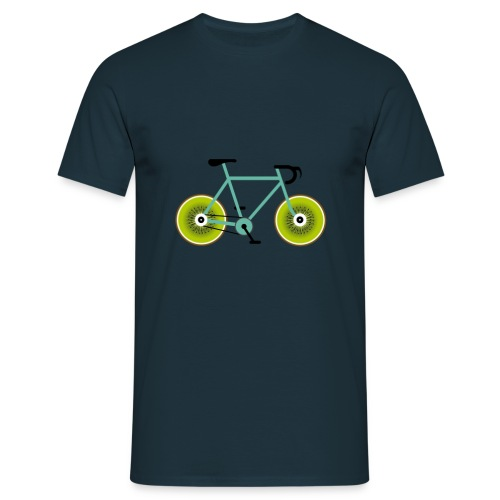 Kiwi Biker - Männer T-Shirt
