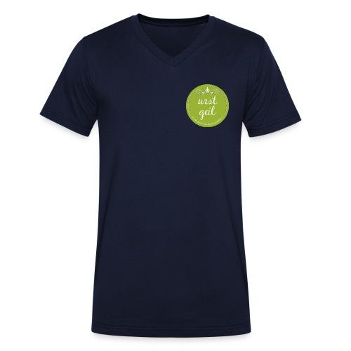 urst geil T-Shirt für Herren - Männer Bio-T-Shirt mit V-Ausschnitt von Stanley & Stella