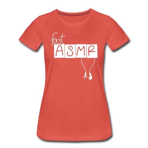 fastASMR Classic Tee - Women's Premium T-Shirt