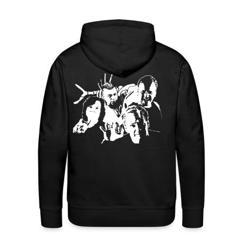 Kapuzenpulli Band - Männer Premium Hoodie