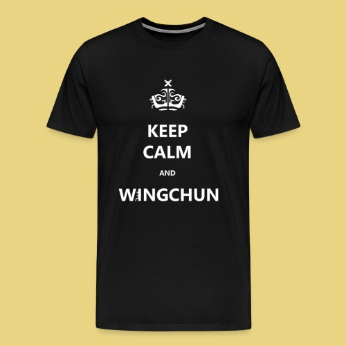 keep calm CHUN - Men's Premium T-Shirt