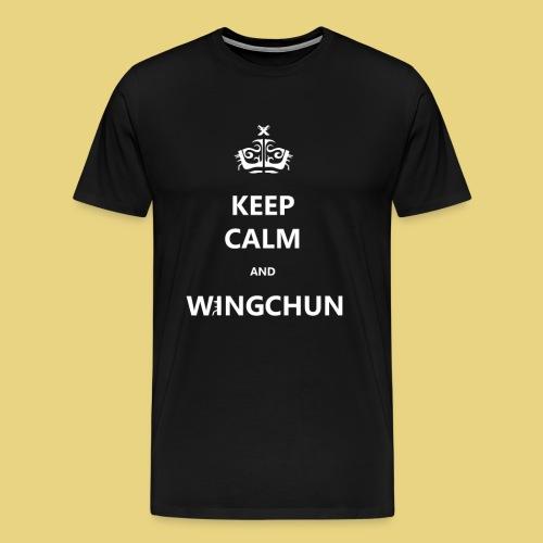 keep calm CHUN - Men's Premium T-Shirt