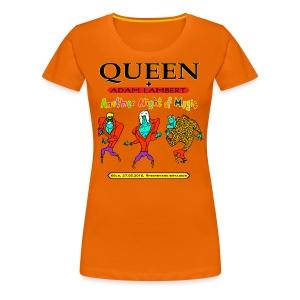 Q+AL Köln 2016 Color - Frauen Premium T-Shirt