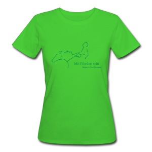 MPS Reiter , Women Bio-Shirt ( Print: Digital Green) - Frauen Bio-T-Shirt